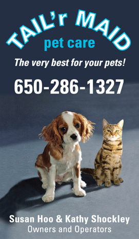 Pet sitting business identity (including cards, flyers, price chart and reference contacts)